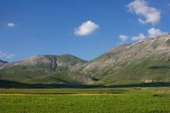 Montagne dell'Umbria Fotografia Stock Libera da Diritti