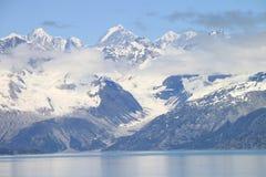 Montagne della baia di ghiacciaio Immagine Stock Libera da Diritti