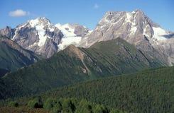 Montagne della Cina immagini stock libere da diritti