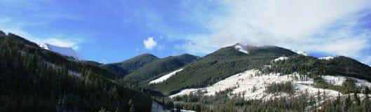 Montagne 2 della Columbia Britannica Immagine Stock