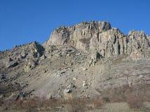 Montagne della Crimea immagine stock