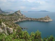 Montagne della Crimea Fotografie Stock Libere da Diritti