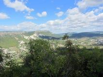 Montagne della Crimea Immagini Stock