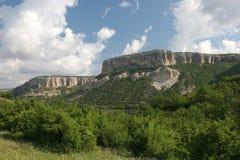 Montagne della Crimea del plateau Immagini Stock