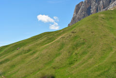 Montagne della dolomia Fotografia Stock