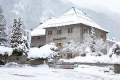 Montagne della La del dу di Maison a Chamonix-Mont-Blanc Fotografia Stock