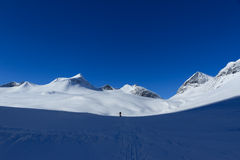 Montagne della Lapponia fotografie stock