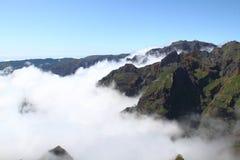 Montagne della Madera Fotografia Stock