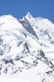 Montagne della neve Fotografie Stock