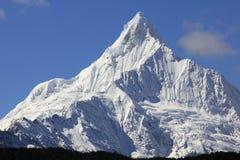 Montagne della neve di Meili fotografia stock libera da diritti