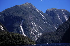 Montagne della Nuova Zelanda Immagini Stock Libere da Diritti