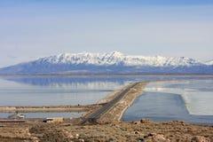 Montagne della parte anteriore di Wasatch, Utah fotografie stock libere da diritti