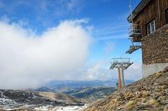 Montagne della primavera in Sierra Nevada andaluso Fotografie Stock Libere da Diritti