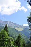 Montagne della riserva naturale di BUCEGI Fotografie Stock