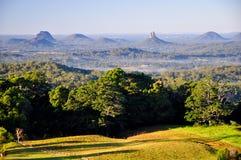 Montagne della serra da Maleny Fotografie Stock