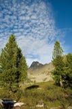 Montagne della sosta nazionale di Ergaki Fotografie Stock Libere da Diritti