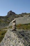 Montagne della sosta nazionale di Ergaki Immagine Stock