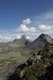 Montagne della sosta nazionale di Ergaki fotografia stock