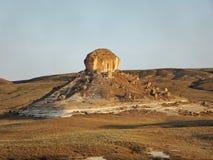 Montagne della steppa fotografia stock