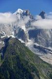 Montagne delle alpi Fotografia Stock Libera da Diritti