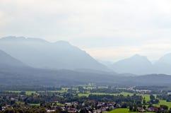 Montagne delle alpi Fotografie Stock Libere da Diritti