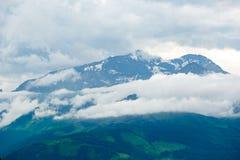 Montagne delle alpi L'Austria, Europa Fotografia Stock Libera da Diritti