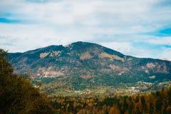 Montagne delle alpi in Slovenia Fotografie Stock Libere da Diritti