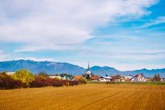 Montagne delle alpi in Slovenia Immagine Stock Libera da Diritti