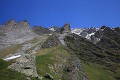 Montagne delle alpi svizzere Immagini Stock Libere da Diritti