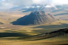 Montagne delle Ande, Cile Fotografia Stock Libera da Diritti