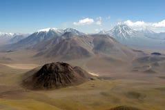 Montagne delle Ande, Cile Immagini Stock Libere da Diritti