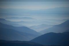 Montagne delle Ande - paesaggi Fotografia Stock Libera da Diritti