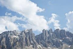 Montagne delle dolomia Immagine Stock