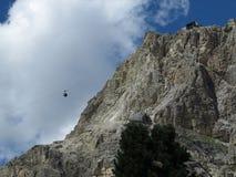 Montagne delle dolomia, Corvara in Badia Alta Badia, Italia Immagini Stock Libere da Diritti