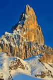 Montagne delle dolomia nelle alpi italiane Immagine Stock Libera da Diritti