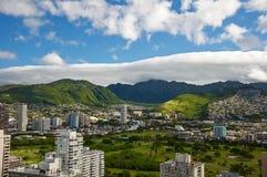 Montagne delle Hawai Fotografia Stock