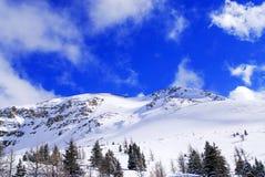 Montagne dello Snowy Immagini Stock