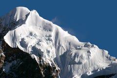 Montagne dello Snowy del Tibet Fotografia Stock