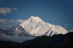 Montagne dello Snowy del Tibet Immagini Stock Libere da Diritti