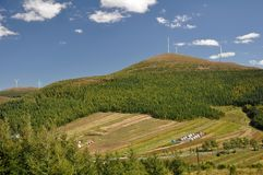 Montagne des USA Photographie stock libre de droits