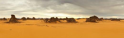 Montagne di Akakus (Acacus), Sahara, Libia Fotografia Stock Libera da Diritti