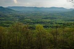 Montagne di Allegheny fotografia stock
