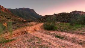 Montagne di Almeria Fotografia Stock