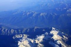 Montagne di Alpes Immagini Stock Libere da Diritti