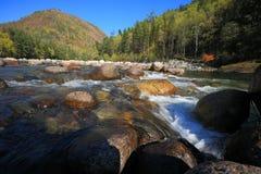 Montagne di Altai Fotografie Stock Libere da Diritti