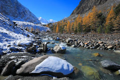 Montagne di Altai Fotografia Stock Libera da Diritti