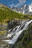 Montagne di Altai Immagini Stock