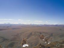 Montagne di Altai Bello paesaggio dell'altopiano La Russia siberia Fotografia Stock