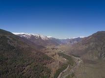 Montagne di Altai Bello paesaggio dell'altopiano La Russia siberia Fotografia Stock Libera da Diritti