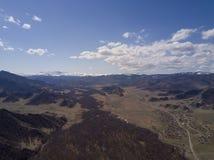 Montagne di Altai Bello paesaggio dell'altopiano La Russia siberia Immagine Stock